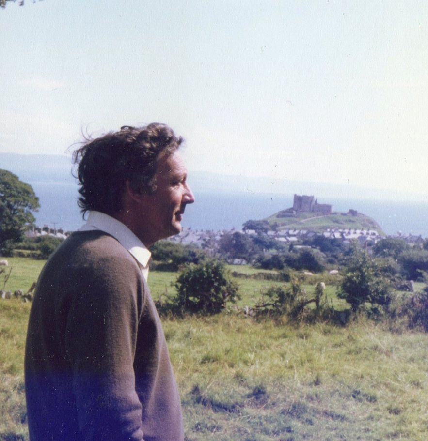 Michael in North Wales, 1976.